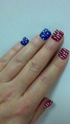 Happy 4th Nails :-) Thanks Rae...