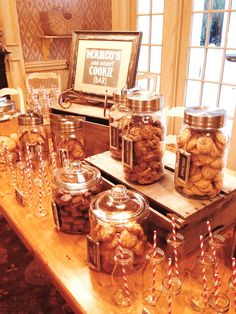 """One Smart Cookie"" Bar for a Graduation Party! 