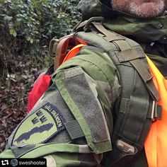 "TAC-UP GEAR on Instagram: ""Great picture of the arm / pocket of the NCWR Jacket M90 also featuring patch from @sweshooter! Head on over and check it out, follow,…"""