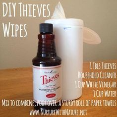 I love my DIY Young Living Thieves Wipes! www.fb.com/HealingLotusAromatherapy