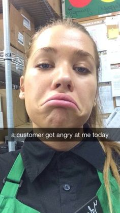 This Girl Snapchatted her Hilarious Interaction with a Customer