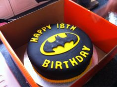 Batman Birthday Cake | Pinterest