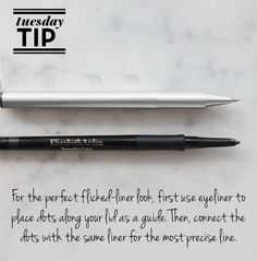#TuesdayTip: With Beautiful Color Precision Glide Eyeliners, perfect penmanship is not a problem.