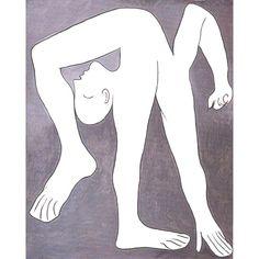 l'acrobate Pablo Picasso