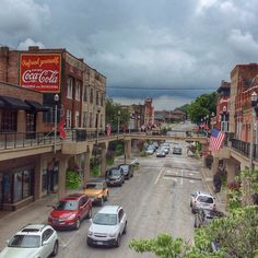 My hometown...Main Street...Morristown TN...Summer 2015