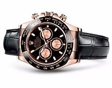 Rolex Dayton Black and Pink Dial - Guide