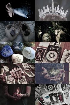 personal aesthetic request: four elements, tarot and crystal more here // request here