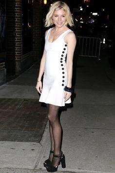 Best Dressed - Sienna Miller. Click through to see the week's best dressed list