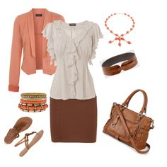 Springy Work Day, created by neller.polyvore.com