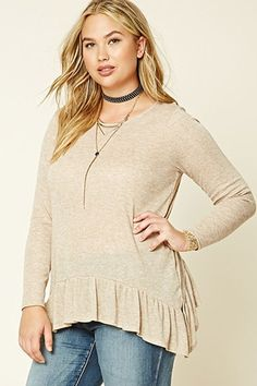 Collect fab plus size tops: prints, tees, peplum, studded | Forever 21 - Tops | PLUS SIZE | Forever 21