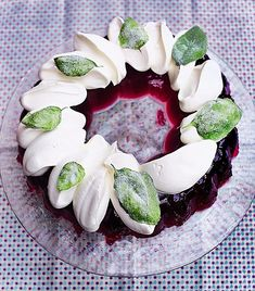French plum jelly and elderflower Chantilly There is a certain childhood nostalgia that comes with this dish but that doesn't make it any less nostalgic