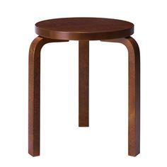 Aalto stool 60, walnut