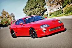 1998 Toyota Supra Twin Turbo | Twin Turbo Toyota Supras equipped with iForged Wheels | iForged ...