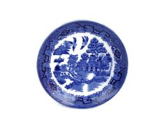 Excited to share the latest addition to my #etsy shop: Vintage Globe Pottery Saucer Blue Willow Transfer Ware Cobridge England Blue and White #housewares #blue #white #globepottery #globepotterysaucer #bluewillow #bluewillowtransfer #transferware https://etsy.me/2JqO1Yj