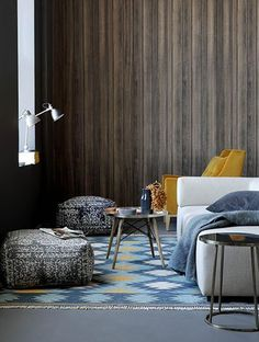 Hertex Fabrics is s fabric supplier of fabrics for upholstery and interior design Soft Furnishings, Earth Design, Interior, Pouf, Home Decor, Hertex Fabrics, Upholstery, Interior Design, Furnishings