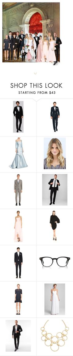 """""""Untitled #465"""" by vegas777 ❤ liked on Polyvore featuring Monique Lhuillier, Tagliatore, Express, Young, Fabulous & Broke, Nicole Miller, Rebecca Taylor, Donna Morgan, Us Angels and Vera Bradley"""
