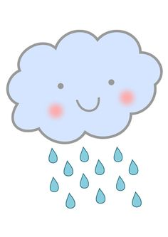 rain (on my face) image Raindrop Baby Shower, Squirrel Clipart, Micro Creche, Cute Raincoats, Red Background Images, Rain Pictures, Cartoon Clouds, Image Clipart, Baby Posters
