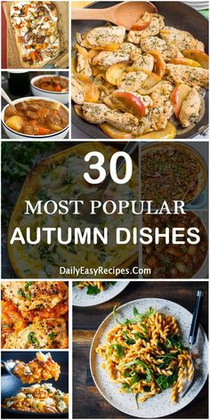 Collection Of 30 Most Popular Autumn Dishes For Dinner – Healthy Food: Recipes, food and diet, weight loss Fall Dishes, Dinner Dishes, Side Dishes, Dinner Healthy, Healthy Food, Healthy Recipes, Fall Recipes, Dinner Recipes, Dinner Ideas