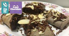 Panqueca de Chocolate - Sabor Materno