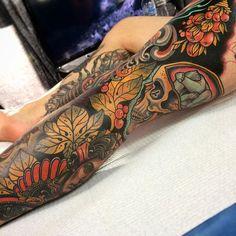 Sam Clark x tattoo