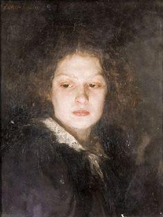Alois Erdtelt - Portrait Of A Young Lady 1880 Figure Painting, Painting & Drawing, Kreative Portraits, Inka, Baroque Art, Oil Portrait, Greek Art, Classical Art, Figurative Art