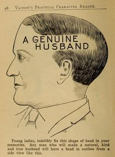 illustrations from Vaught's Practical Character Reader, a book on phrenology by L. Vaught published in See many more images from the book ON THE MAIN SITE. Vintage Medical, Vintage Ads, Vintage Prints, Creepy Vintage, Retro Ads, Pseudo Science, Face Reading, Another Love, This Is A Book