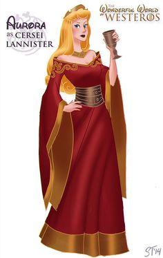 "Sleeping Beauty | Disney Princesses As ""Game Of Thrones"" Characters"