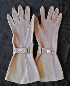Vintage Gloves - This Winter's Fashion Statement! Imagine, See, Do