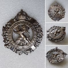 Cameron Highlanders of Canada Canadian Army, Highlanders, Commonwealth, Badges, Empire, British, Museum, Canada, Military