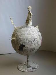 """Résultat de recherche d'images pour """"sculpture papier maché"""""""
