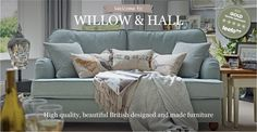 Hand Made Sofas & Sofa Beds | Willow & Hall