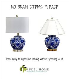 Cheap Lamps - Sources, Hacks and What Size To Get! | Laurel Home