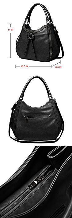 Most Popular Designer Tote Bags. Zahara Women Handbags Large Designer Ladies Tote Purse Big Top Handle Hobo Bags Fashion PU Leather Shoulder Satchel Black.  #most #popular #designer #tote #bags #mostpopular #populardesigner #designertote