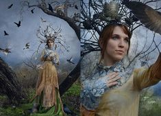 Creating a Dryad Costume for a Fantasy Photo Shoot on a Shoestring Budget