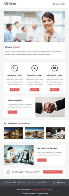 The Review Email Design Inspiration - EDM Pinterest Email - marketing email template