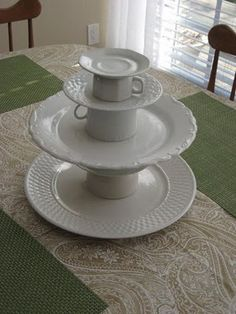 Anthropologie inspired cupcake stand... $100 in Anthro