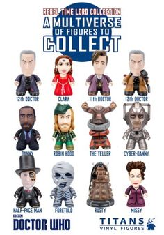 Doctor Who Titans The Rebel Time Lord Collection Blind Box F