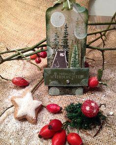 """#tantenana #stampinup #anhänger #labels #paper #crafts #instas #xmas #christmas #weihnachten """