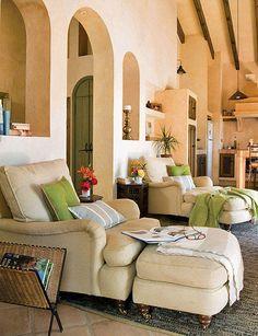 Impressive small space design in this Spanish retreat