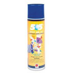 505 Temporary Spray Adhesive - Odorless, colorless, stainless, spotless, does not gum needles, no CFC, acid free
