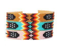 Les trouvailles d'Elsa - Bracelet perles de rocailles indien Harpo