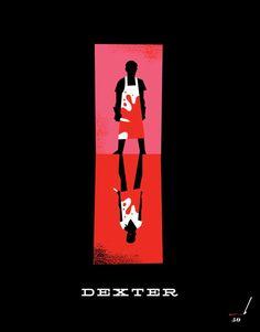Ty Mattson Dexter http://mattsoncreative.com/blog/2010/10/06/dexter-inspired-posters/