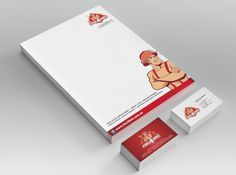 Fire4Hire Stationery Design by Csquared Design #letterhead #businesscard