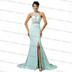 Sleeveless prom dress,chiffon prom dress,light blue  prom dress,long prom dress,sexy prom dress,prom dress 2016