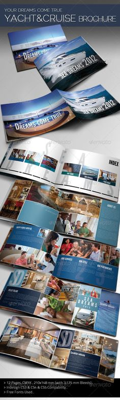 Print templates on pinterest flyer template flyers and for Cruise ship brochure templates