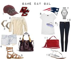 What to wear to a Patriots or Boston College game via @Simon Style SetterⓇ
