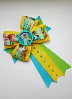 Frozen fever hair bow frozen hair bow baby от Boutiqueofbeauty
