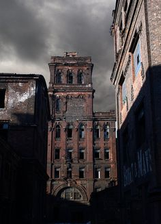 What i imagine the old factory buildings to look like