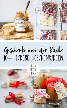 Für Naschkatzen: 10 Geschenke aus der Küche // Foodgeschenke // Weihnachtsgeschenk // Weihnachtsgeschenke // selbstgemachtes Geschenk // DIY Geschenke // backen, kochen, basteln // Food-Geschenk