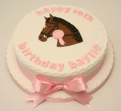 I know a little girl that would love this! Horse Birthday Cake by allaboutcake, via Flickr